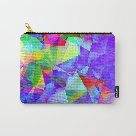 polygons Carry-All Pouch
