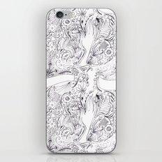 Lady Fleur Fingers  iPhone & iPod Skin