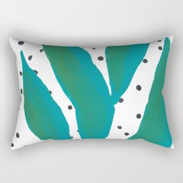 Tropical Leaves 1 Rectangular Pillow