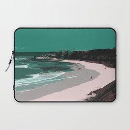 Pink Beach Laptop Sleeve