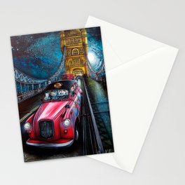 Iconic London Crossing by Gloria Amparo Gallego Stationery Cards