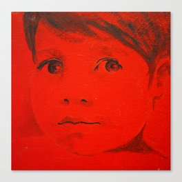 Child in red Canvas Print