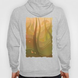 Enchanting Autumn Forest Hoody