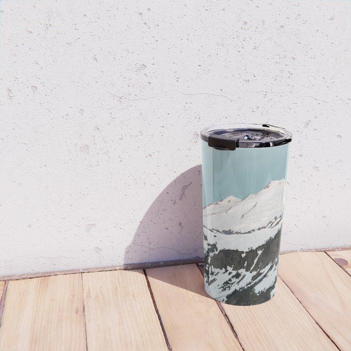 Turquoise Sky Mt. Baker Travel Mug