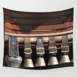 Swiss Cow Bells Wall Tapestry