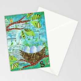 Nest and Sing Stationery Cards