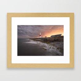 Storm Light Framed Art Print
