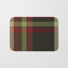 Colors Of Christmas (Plaid) Bath Mat