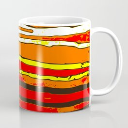 Contrasting stripes Coffee Mug