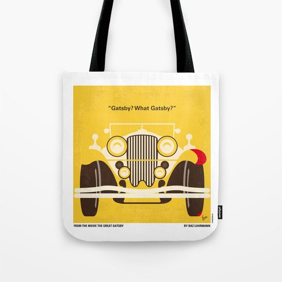 No206 My The Great Gatsby minimal movie poster Tote Bag