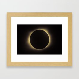 Total Eclipse 2017 Framed Art Print