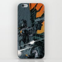 metal gear iPhone & iPod Skins featuring METAL GEAR Ground Zeroes by Toni Infante