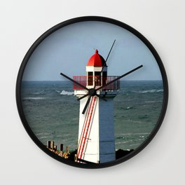 Lady Bay Lower Lighthouse  Wall Clock