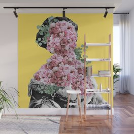 Death by Peony Wall Mural