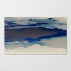 Inverted Peaks II Canvas Print