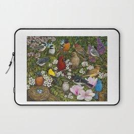 Garden Birds Laptop Sleeve