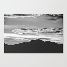Mountain and Sky Canvas Print
