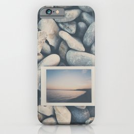 an instant sunset ... iPhone Case