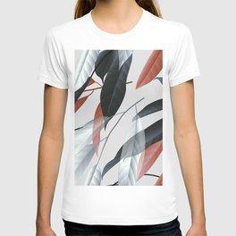 Long leaves seamless pattern T-shirt