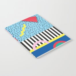 Memphis Party Notebook