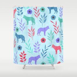 Forest Animal and Nature Shower Curtain