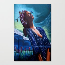 """The ultimate seduction of Mary"" Canvas Print"