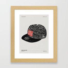 NEW ERA CAP FACTORY TOUR Framed Art Print