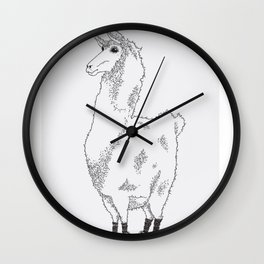 Llama needs a new pair of shoes... Wall Clock