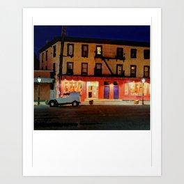 Tagine at Night (Print) Art Print