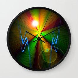Light show 3 Wall Clock