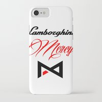lamborghini iPhone & iPod Cases featuring Lamborghini Mercy by André Purve
