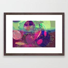 abstract 004. Framed Art Print