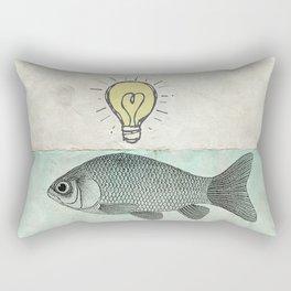 Ideas and Goldfish Rectangular Pillow
