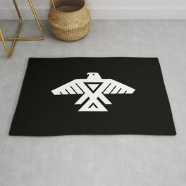 Thunderbird flag - HQ file Inverse Rug