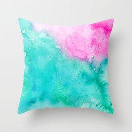 Galaxies & Seas Throw Pillow