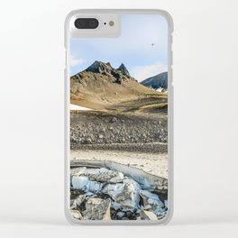 "Extrusion ""Camel"" at the foot of the Avachinsky volcano Clear iPhone Case"