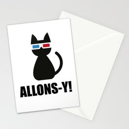 Allons-y ! Stationery Cards