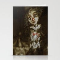 clown Stationery Cards featuring clown  by AliluLera