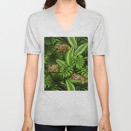 Jungle kitties  Unisex V-Neck