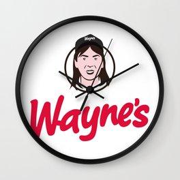 Wayne's Single #1 Wall Clock