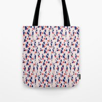 zombies Tote Bags featuring ZOMBIES by RUEI
