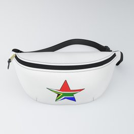 flag south africa 3,  African,Afrikaans,Mandela,apartheid, Johannesburg,Soweto,Pretoria,Durban,Tembi Fanny Pack