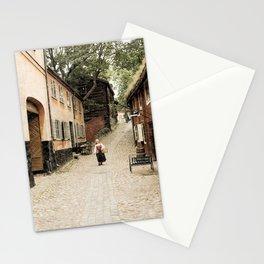 Swedish woman Stationery Cards