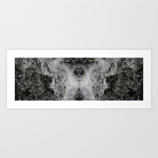 Foam Butterfly Art Print