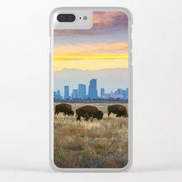 City Buffalo Clear iPhone Case