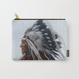 Lazy Boy - Blackfoot Indian Chief Carry-All Pouch