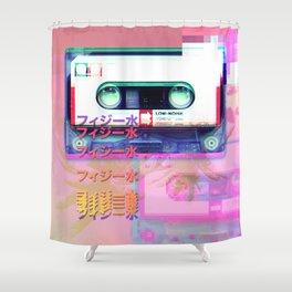 Daylight mixtape Shower Curtain