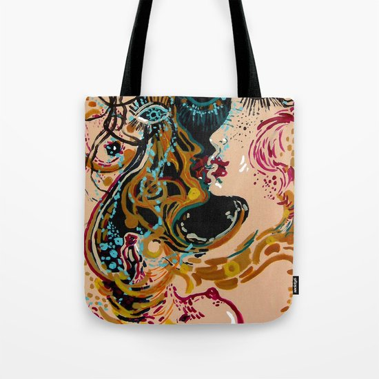 danae and shower of gold Tote Bag