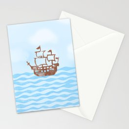 a pirate's life Stationery Cards