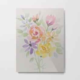 Summer's Final Bouquet Metal Print